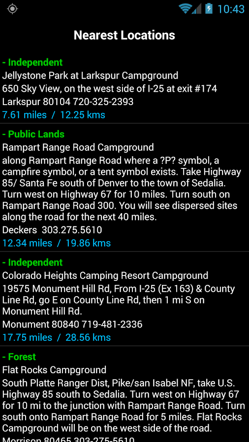 Camp and RV - Campgrounds Plus Screenshot 2