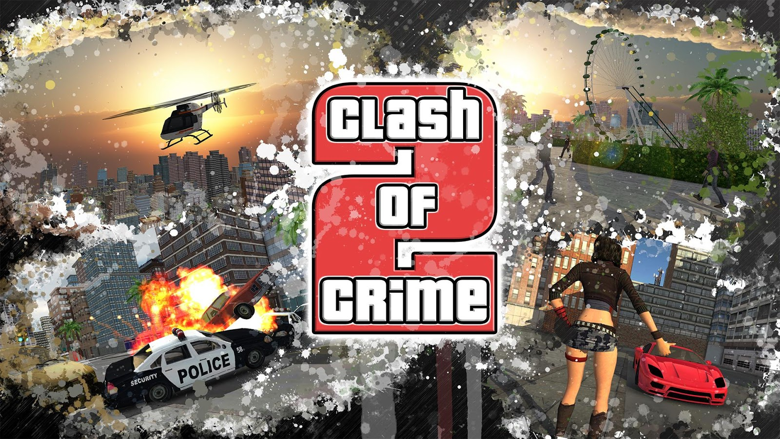 Clash of Crime Mad City War Screenshot 4