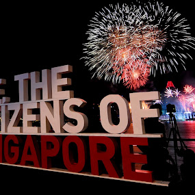 We, The Citizens of Singapore by Michelle Goh - City,  Street & Park  Street Scenes