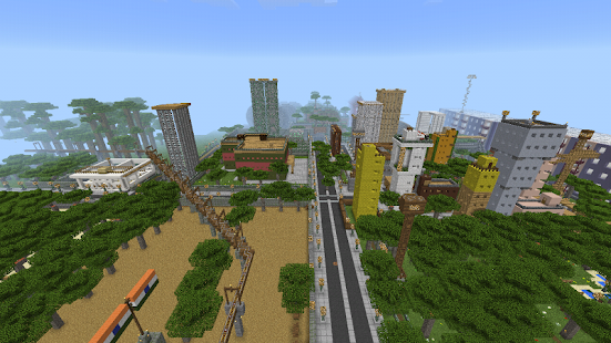 Greenvilgecity MCPE map APK for Bluestacks