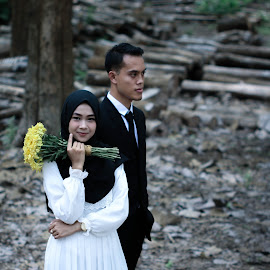 prewedding  by Ode Ramadhani - Wedding Other ( #prewedding #nature #fashion #hijab )
