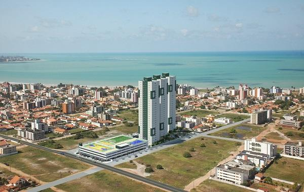 Apartamento residencial à venda, Bessa, João Pessoa - AP0608.