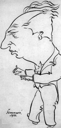 Matz started conducting various ensembles early in his career.  Matz was known as a conductor in Zagreb by the 1930s, where Marijan Šimunić drew this caricature of him in 1933.