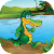 Crocodile Jungle Run 2 file APK Free for PC, smart TV Download