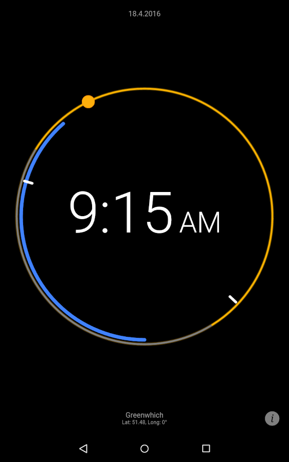 Sun Clock Screenshot 12