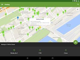 Screenshot of Park Catcher Montreal