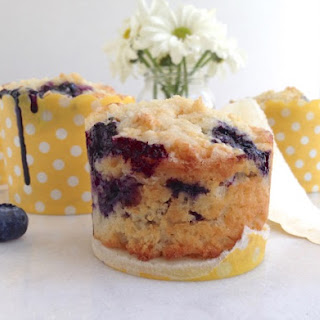 Blueberry and Ricotta Muffins