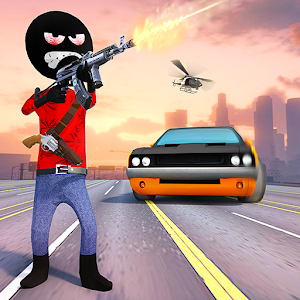 Stickman Grand Gangster For PC / Windows 7/8/10 / Mac – Free Download