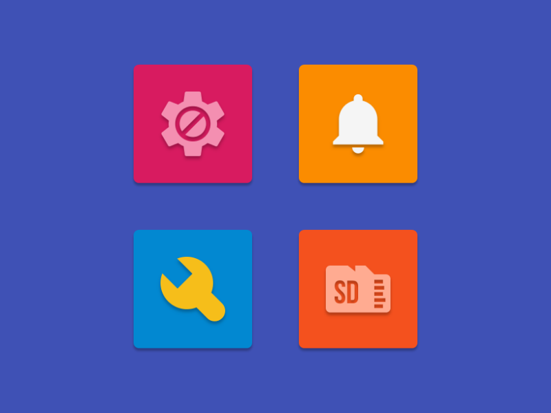 NAXOS FLAT - ICON PACK Screenshot 6