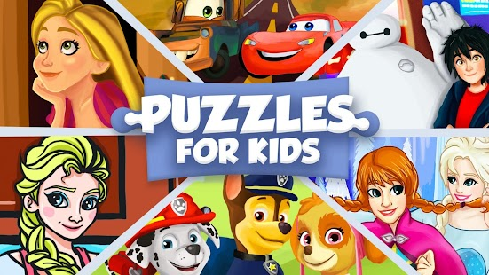 Cartoon jigsaw puzzles for kids for pc