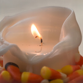 Candy Candle by Kathy Suttles - Abstract Fire & Fireworks (  )