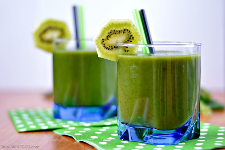 Kiwi Spinach Smoothie Recipe | Yummly