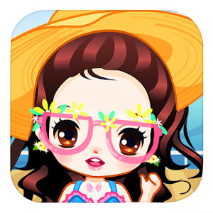 Download Cute girls seaside travel for Windows Phone