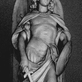 Michael the Archangel by Mark Zukaitis - Buildings & Architecture Statues & Monuments