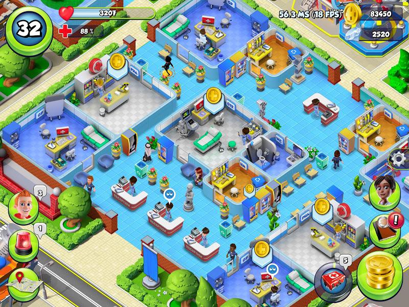 Dream Hospital - Health Care Manager Simulator Screenshot 8