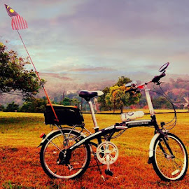 My Ride by Omrin Kamarudin - Transportation Bicycles