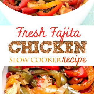 Fajita Slow Cooker Chicken