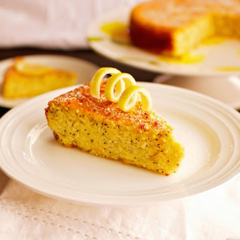 Lemon Poppy Seed Cake with Almond Flour