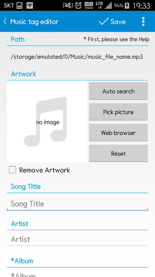 Star Music Tag Editor Screenshot 2