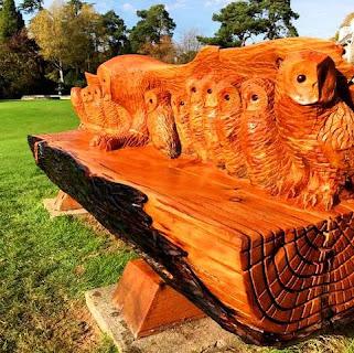 Thomas carvings about harry thomas presteigne