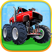 Game Monster Trucks Kids Puzzles APK for Windows Phone