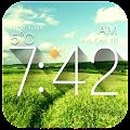 Galaxy Clock & Weather Widgets