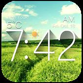App Galaxy Clock & Weather Widgets version 2015 APK