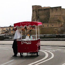 Italian Ice-cream Vendor by Dennis Ng - Food & Drink Candy & Dessert