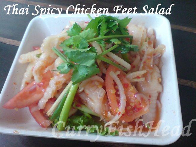 Thai Spicy Chicken Feet Salad Soul Thai Malaysia Food