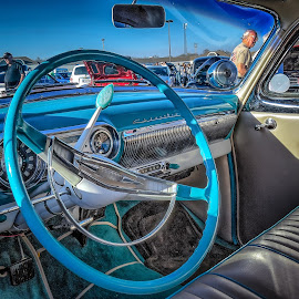 Chevy Interior by Ron Meyers - Transportation Automobiles