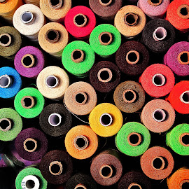 color thread by Mursida Musić - Artistic Objects Still Life