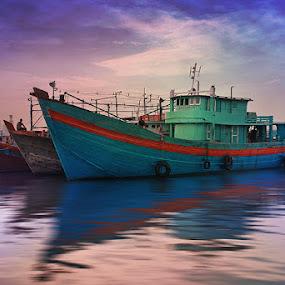 by Dadan Supardan - Transportation Boats