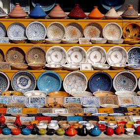 Tunisian ceramic by Jakub Juszyński - City,  Street & Park  Markets & Shops