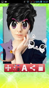 Kawaii Photo Booth - Anime - screenshot