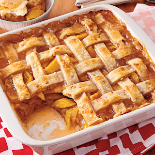 Southern Peach Cobbler With Pie Crust Recipes