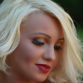 Grown up Princess by Tiffany Serijna - People Street & Candids ( brown eyes, blonde, girl, woman, tiffanyserijna, beautiful, lady, stunning, pretty, outside, portrait,  )