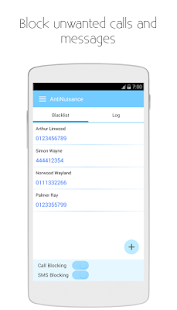 Anti Nuisance-Call&SMS Blocker