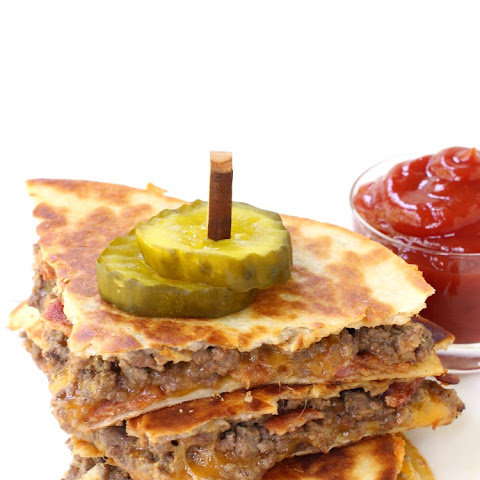 Bacon Cheeseburger Quesadillas
