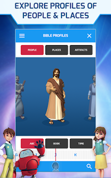 Superbook Bible, Video & Games APK screenshot thumbnail 20