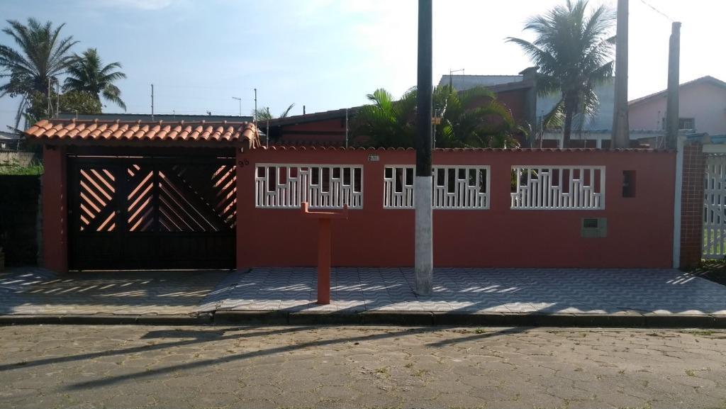 Casa com 2 dormitórios à venda, 94 m² - Balneário Pigalle - Itanhaém/SP