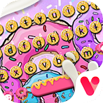 Sweet Colorful Donuts New Theme Icon