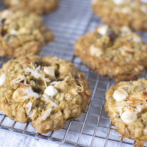 Chocolate Chip, Coconut Oatmeal Cookies