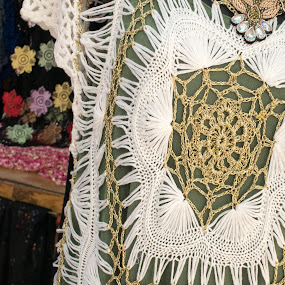 Intricate crochet by Gwyn Goodrow - Artistic Objects Clothing & Accessories ( fashion, clothing, dress, crochet, artistic, stitch, handmade, culture )
