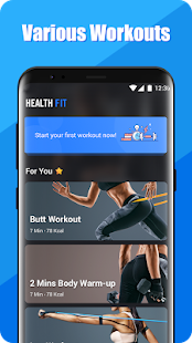HealthFit - Abs Workout with No Equipment Needed for pc