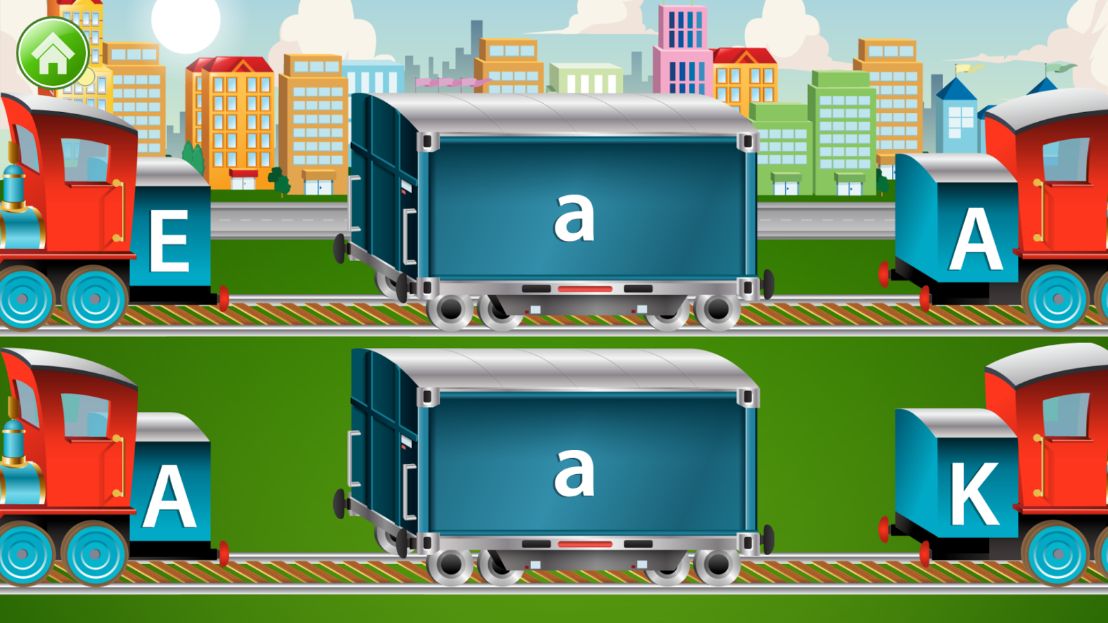 Kids ABC Letter Trains Screenshot 3