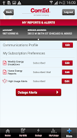 Screenshot of ComEd