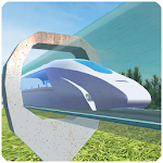 Hyperloop: futuristic train simulator Icon