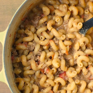Healthier Chili-Cheese Macaroni