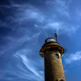 Light house by Upul.C. Dayawansa - Buildings & Architecture Public & Historical ( ship, lighthouse, buildings, sea, boat,  )