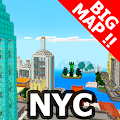 New York city BIG map for MCPE APK for Bluestacks
